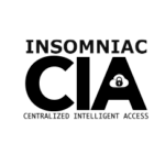 INSOMNIAC Centralized Intelligent Access (CIA) Logo