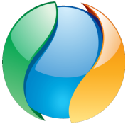 Redding Network Ball Logo 180x175