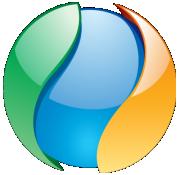 Redding Network Ball Logo 180x175